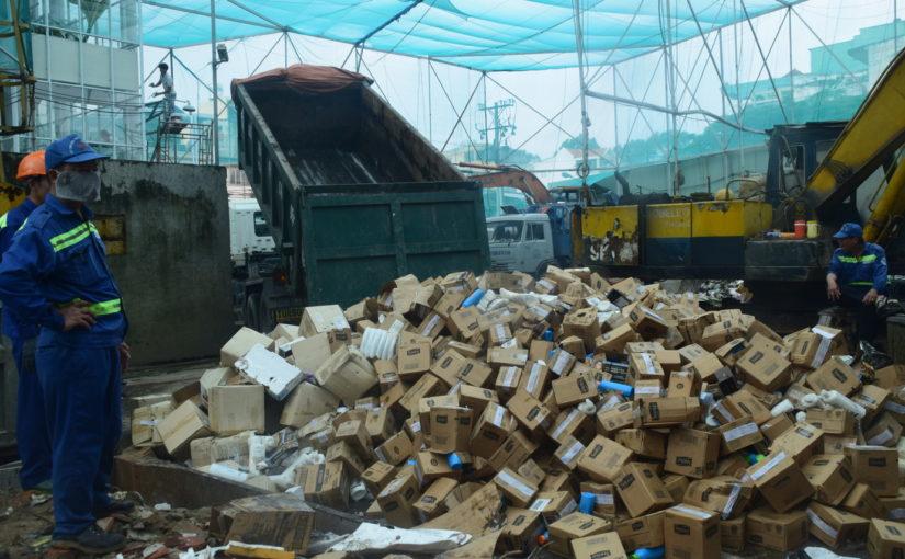 Dịch vụ tiêu hủy hàng hóa không qua kiểm định uy tín
