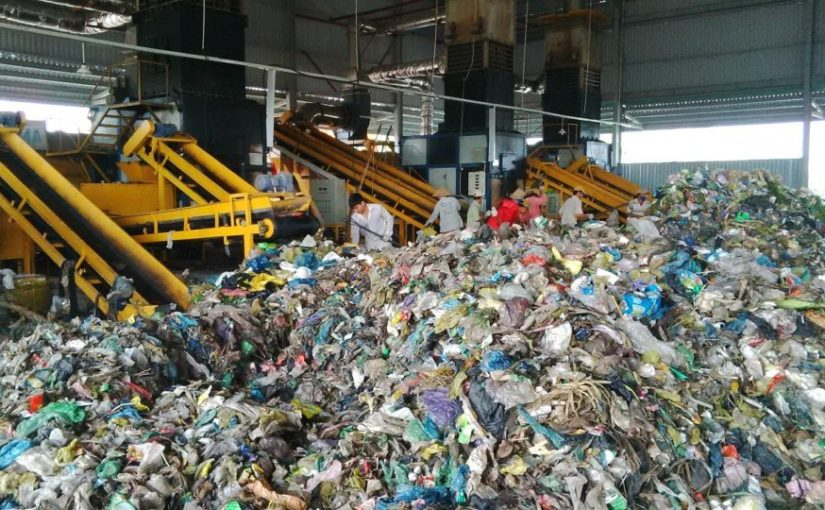 Dịch vụ xử lý rác thải công nghiệp