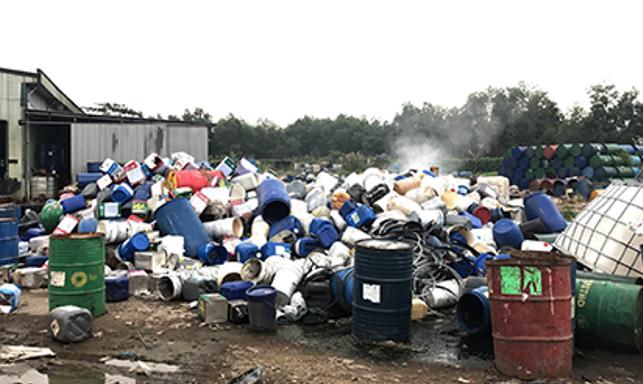 Xử lý rác thải nguy hại