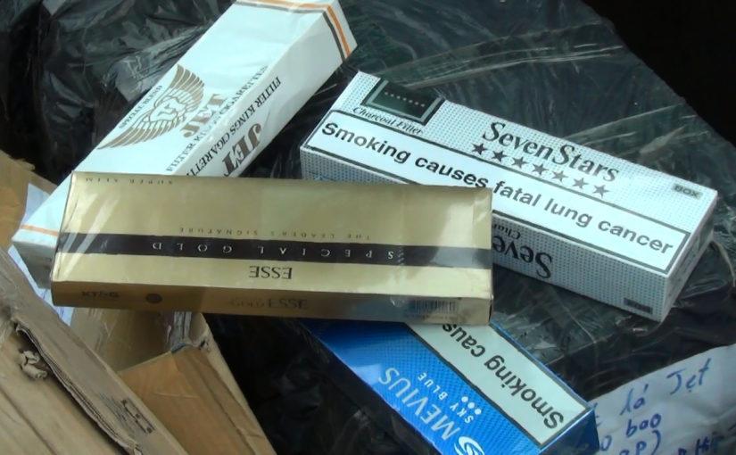 Địa chỉ tiêu hủy thuốc lá giả