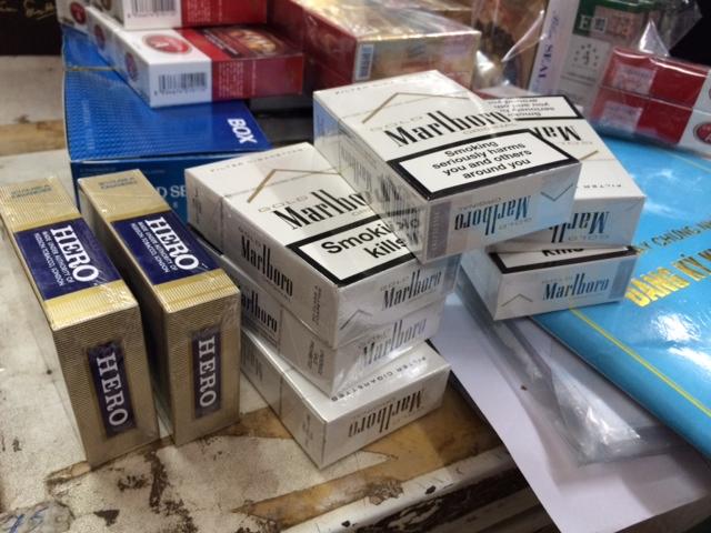Dịch vụ tiêu hủy thuốc lá nhập lậu