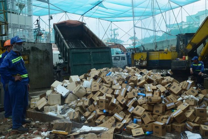 Phương án tiêu hủy hàng hóa nhập khẩu hiệu quả