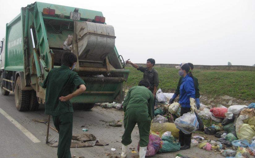 Quy trình thu gom chất thải